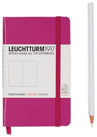 Leuchtturm1917–Taccuino Pocket (A6), 185pagine numerate Puntinato Rose