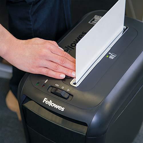 Fellowes Powershred 60Cs 10-Sheet Cross-Cut Paper and Credit Card Shredder with SafeSense Technology (4606001)