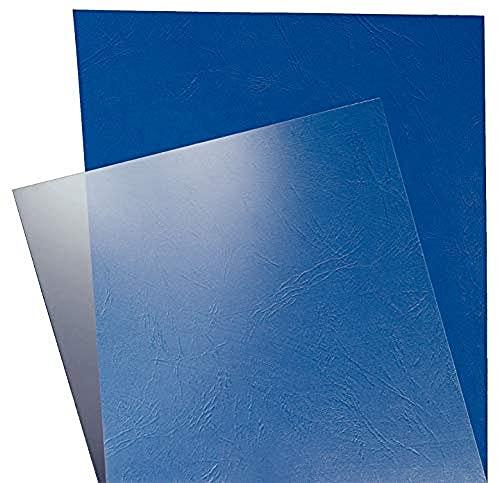 Leitz 73860003 - Cubiertas de plástico, A4, 100 unidades, transparente