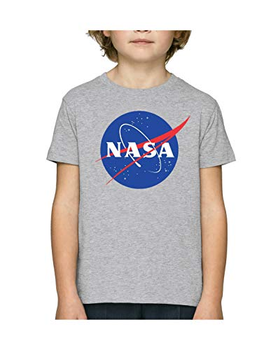 cotton division Bonasadts013 T-Shirt, Gris, 10 Anni Bambino