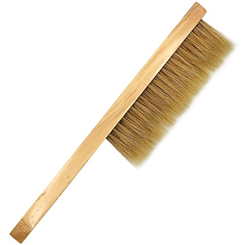 MUDUOBAN Bee Brush Wooden Handle Brush Beekeeper Tool Beekeeping...