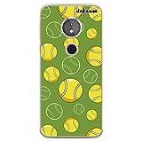 dakanna Coque pour Moto E5 - G6 Play en Silicone | Balles de Tennis | Étui Housse en TPU Souple -...