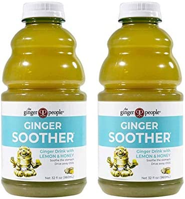 The Ginger People Ginger Soother Lemon and Honey 32 Ounce Pack of 2 product image