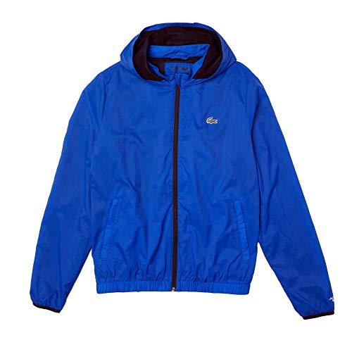 Lacoste Sport BH9674 Chaqueta de Hombre, Lazuli/Noir-Blanc, M