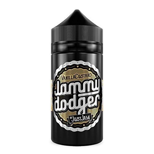 Jammy Dodger Vanilla Custard (80ml) Plus e Liquid by Just Jam Nikotinfrei