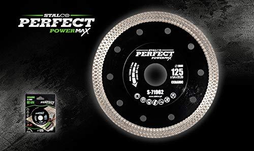 STALCO PERFECT Disco de diamante de 200 mm de diámetro, corte en seco y húmedo