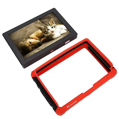 SALUTUYA Monitor de Video de la cámara de Seguridad de la sombrilla, Monitor de vigilancia de 7 Pulgadas con Alto Brillo