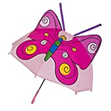 TPTPMAY Niños paraguas de dibujos animados con orejas de animales paraguas personalizado princesa mango largo seguro paraguas portátil plegable Occluder