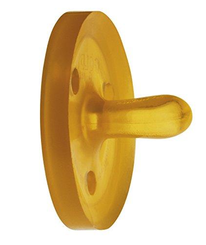 Schnuller Naturform oval XS, 0M aus Naturkautschuk