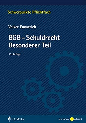 BGB-Schuldrecht Besonderer Teil (Schwerpunkte Pflichtfach)