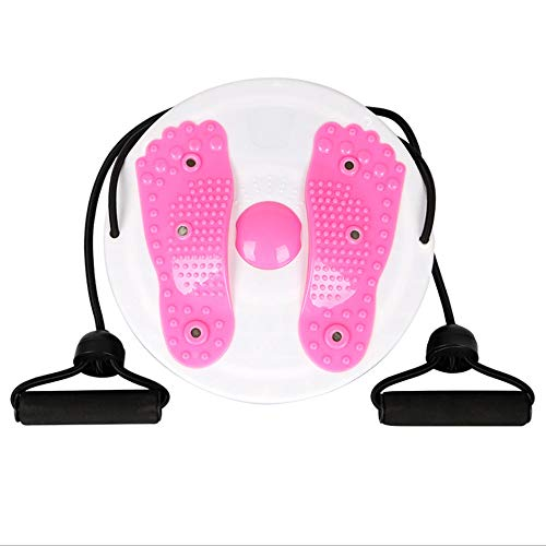 Great Price! N/X Slimming Magnetic Therapy Twist Waist Plate, Large Drawstring Home Fitness Body Bea...