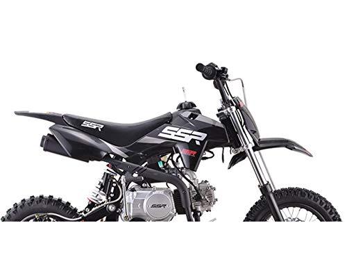 SSR 70 110 125 Pitbike Plastic Body Kit Black New 2019-2020 Style A00692-02-02