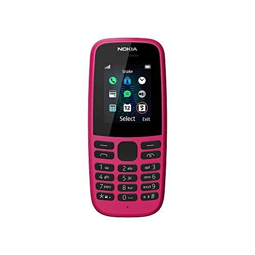 Nokia 105 2019 Telephone Portable Double Sim Rose TA 1174