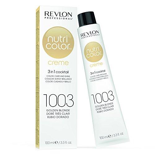 REVLON PROFESSIONAL Nutri Color Crème, Nr. 1003 Golden Blonde, 1er Pack (1 x 100 ml)