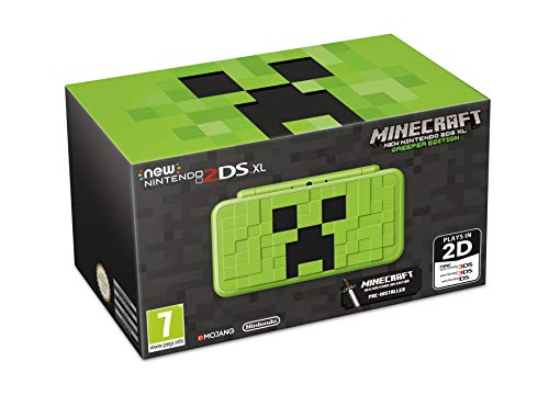 New Nintendo 2DS XL Creeper Edition + Minecraft: New Nintendo 3DS Edition - Limited