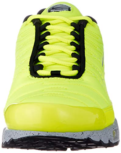 Nike Air MAX Plus PRM Hombre Trainers 815994 Sneakers Zapatos (UK 4 US 4.5 EU 36.5, Volt Matt Silver Wolf Grey 700)