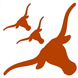 Texas Longhorns Licensed Repositionable Wall Decal by Trademarx Wallcovering