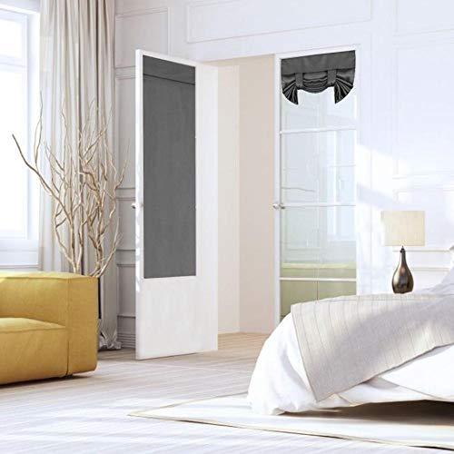 Binwe Set Von 2 Blackout Vorhang Faltvorhänge Doppeltür Vorhänge Einfarbig Vorhänge Tülle Licht Blockieren Fenster Vorhänge Für Wohnzimmer