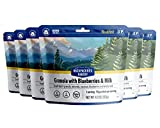 Backpacker's Pantry Granola with Blueberries Almonds & Milk | Freeze Dried Backpacking & Camping Food | Emergency Food | 16 Grams of Protein, Vegetarian | 1 Count