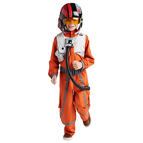 Star Wars Poe Dameron Costume for Kids Size 4 Multi