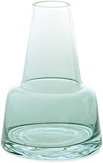 POSH LIVING フラワーベース ブルー φ10×H14 cm ガラスボトル 22571