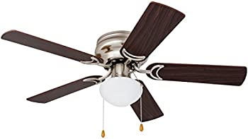 Prominence Home 42 Inch Alvina LED Hugger Ceiling Fan