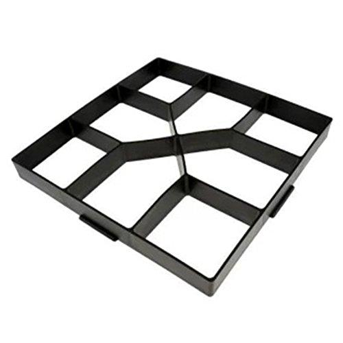 Moule à béton réutilisable pour pavés de terrasse, allée (40 x 40 cm)