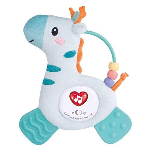 Kooshy Juguete para bebés, sonajero de Felpa, Juguete para niños pequeños con Anillos de dentición, sonajeros de Peluche de Animales Lindos y Suaves para bebés y niños pequeños