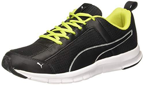 Puma Men's Skylark Idp Black-Limepunch Running Shoes-6 UK (37115903)