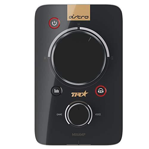 ASTRO MixAmp Pro TR Adapter für Playstation 4, 3. Generation, 7.1 Surround Sound, Spielsound-Sprachchat-Balance, Digitale Kaskadenverkettung, Anpassbare Streaming-Ausgabe, PC/PS4 - schwarz