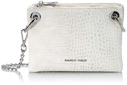 MARCO TOZZI Damen Handtasche 2-2-61031-26, LT.Grey Comb, normal