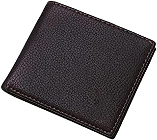Men's Wallet Ultra Slim Bifold Leather Wallet with Money Protection Currency Pockets for ID Card Credit Card Business Card...