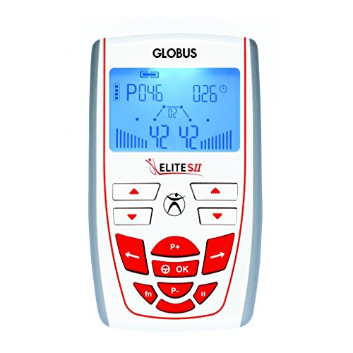 Globus G3552, Elite s II elettrostimolatore Unisex Adulto, Argento, Unica