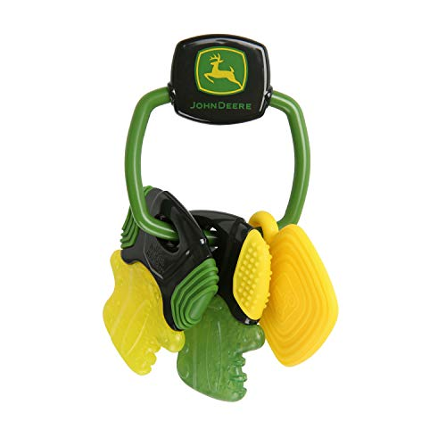 Fantastic Deal! Bright Starts John Deere Crank 'Er Up Teether Keys