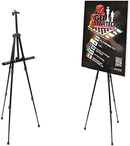Pintar Art Supply 66 Professional Adjustable Artist Easel Stand with Travel Carrying Bag Included product image