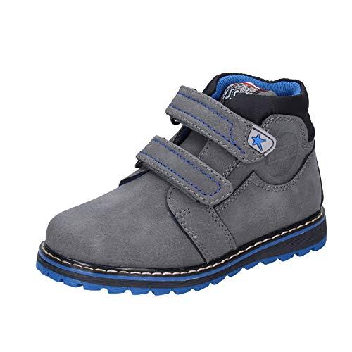 Asso Sneakers bébé garçon Cuir synthétique Gris 24 EU