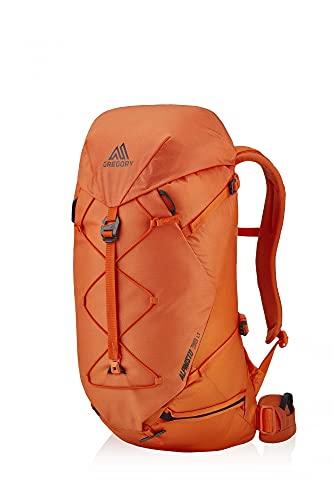 GREGORY Alpinisto 38 Lt MD/LG, Zaino Unisex-Adulto, Zest Arancione, Reg