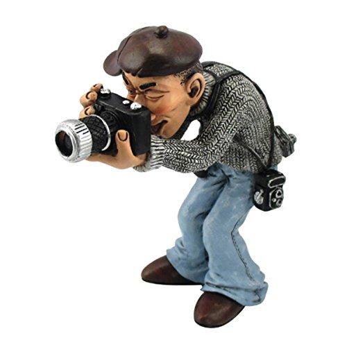 Funny Job - Fotograf mit moderner Kamera