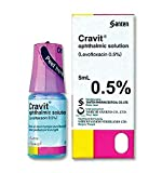 Cravit Best Pet Eye Drops Inflammation Pet Treat of Dog, Cat & All Animals, Infection Treatment, Promotes Eye Clarity, Veterinary Formula, Fast Results 3 day. Twice Strong as Most Similar Product 5 ML