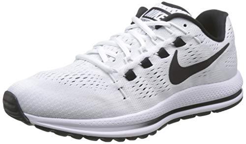 Nike Women's WMNS Air Zoom Vomero 12 Running Shoes, White (White/Pure Platinum/Black), 3.5 UK 36.5 EU