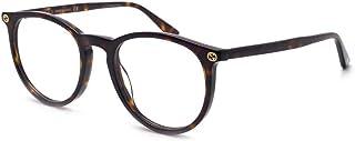 Gucci GG0027O Plastic Round Eyeglasses Size 50 mm