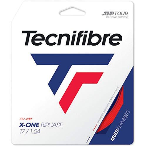 Tecnifibre X-One - Corda da tennis bifase, colore: Rosso, Unisex - Adulto, Sandali Adventure Seeker, punta chiusa - T - Bambini, 1.24mm