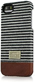 Hex Focus Case for iPhone 5 HX1313 BYST - Retail Packaging - Black/Grey Stripe