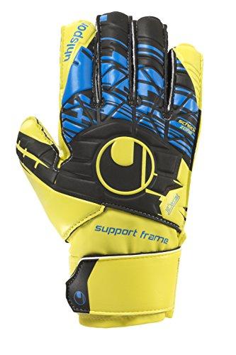 uhlsport - Speed Up Soft Sf Junior - Gants de Gardien de but - Homme - Jaune (Lite fluo gelb/Schwarz) - Taille: 7