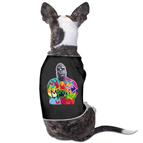 Qq1-asd-store Biggie Smalls Pet Clothes Animals Vest Tracksuit Dog Cat Puppy Costumes