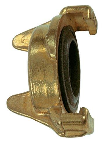 Cornat Schnellkuplungs-Blindkappe, Klauenabstand 40 mm, Messing / Schlauchverbindungen / Garten Bewässerung / FLOR92250