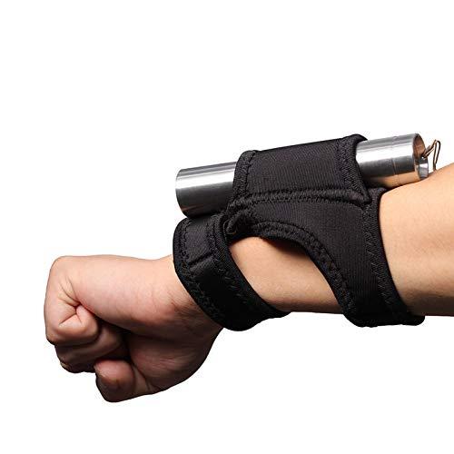 Hands Free Taschenlampen Holster,Handgelenk Oder Arm Tragbare Taschenlampen Halterung zum Tauchen unter Wasser