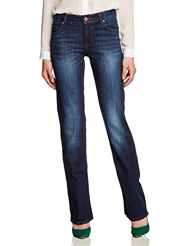 MUSTANG 520_5231_541 Sissy Damen Jeans, 5-Pocket, high Rise, Scratched Used W26/L32