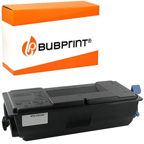 Bubprint Cartucho Tóner Compatible para Kyocera TK-3100 TK3100 para Ecosys M3040DN M3540DN FS-2100D FS-2100DN FS-4100DN FS-4200DN FS-4300DN 12,500 páginas Negro