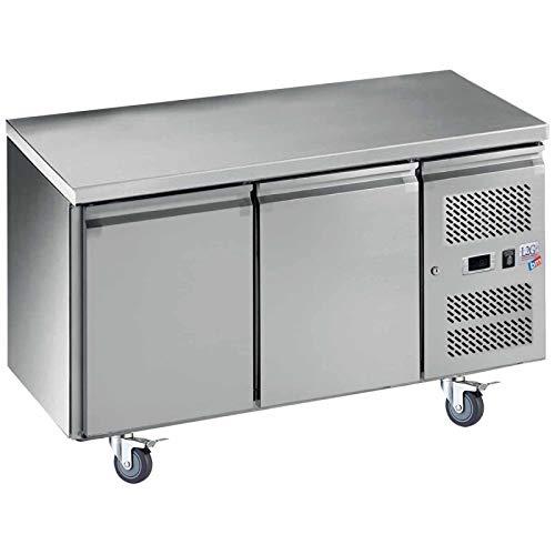 Table réfrigérée négative centrale GN1/1-2 portes